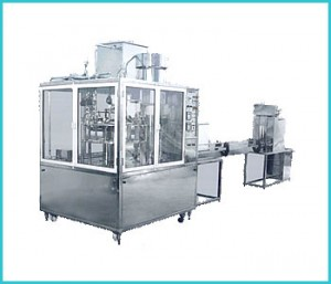 Automatic-Rotary-(Station)-Bottle-Rinsing-Filling-&-Capping-Machine